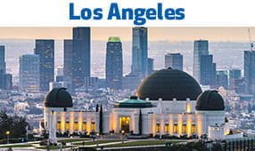 Los Angeles, CA - skyline